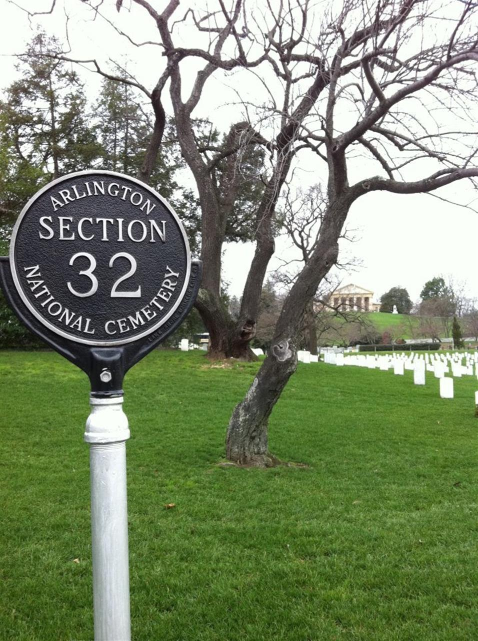Arlington Cemetery, may they rest in peace.