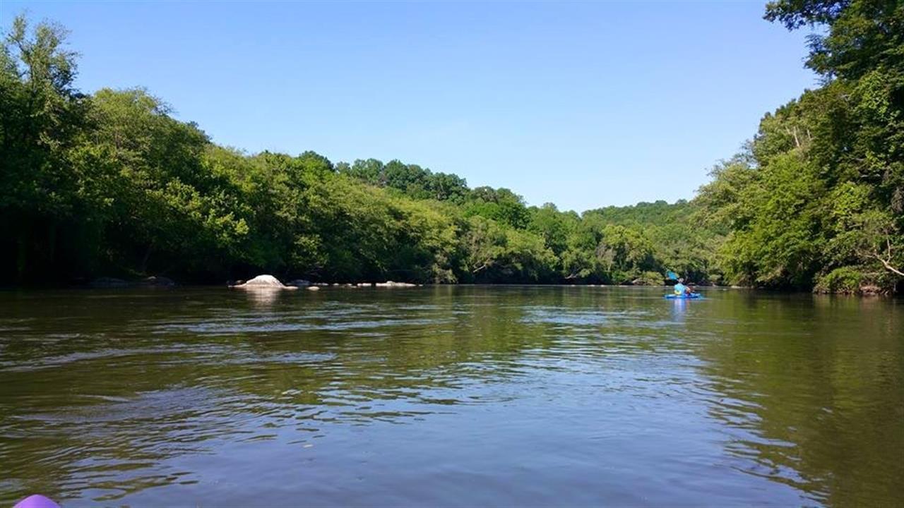 Kayaking on the Yadkin River, Yadkinville, NC