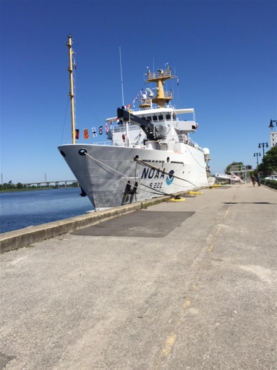Weather research Vessel at Wilmington's River Walk