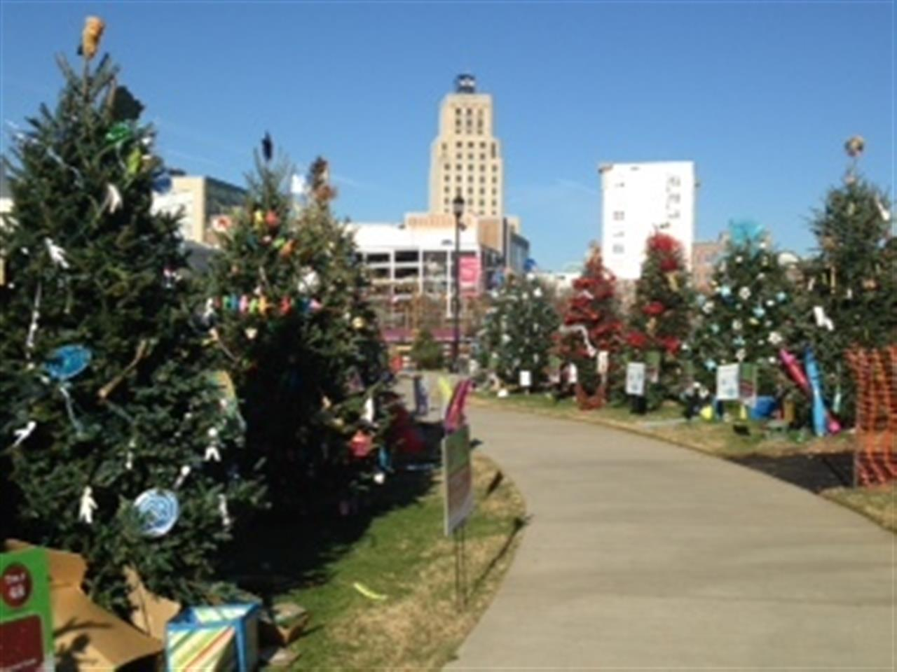 Christmas Tree Fundraiser - DT Durham, NC