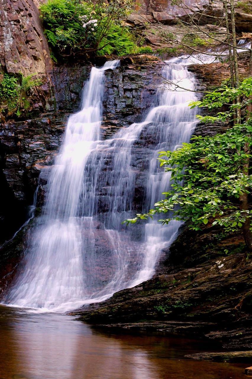Waterfall in Stokes County
