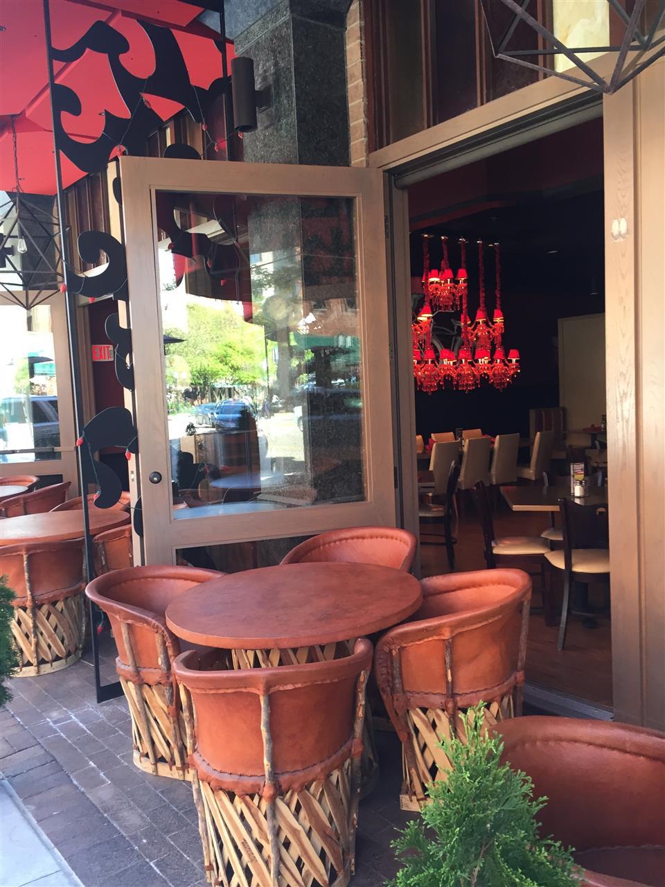 Indoor and Outdoor dining at Rojo Mexican Bistro. Birmingham, Michigan #LeadingRElocal #Birmingham #Michigan