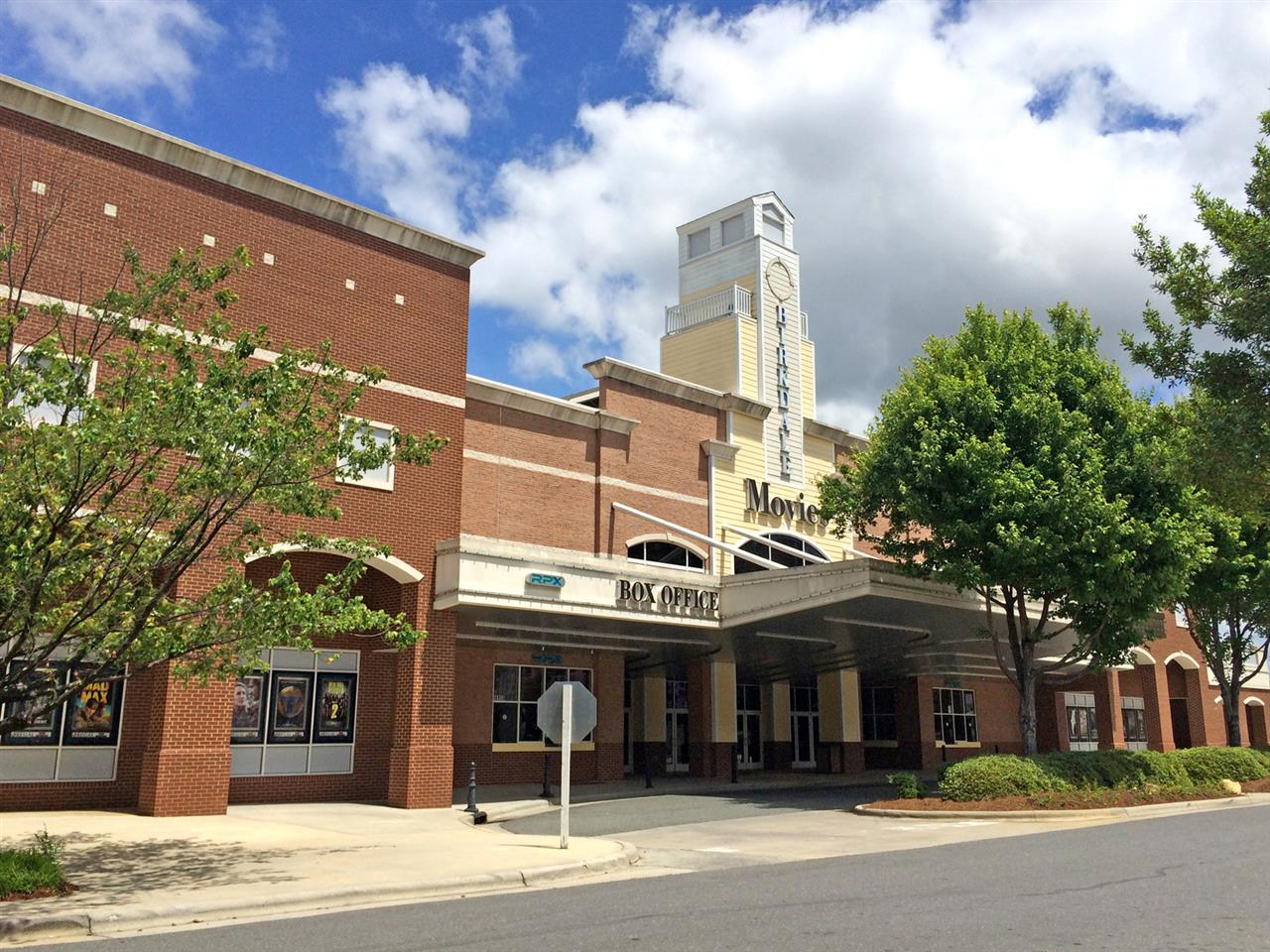Movie theater (Birkdale Movies is a Regal Cinema) in the premier live-work-play community just north of Charlotte, #BirkdaleVillage in #Huntersville #NC! #LeadingRElocal