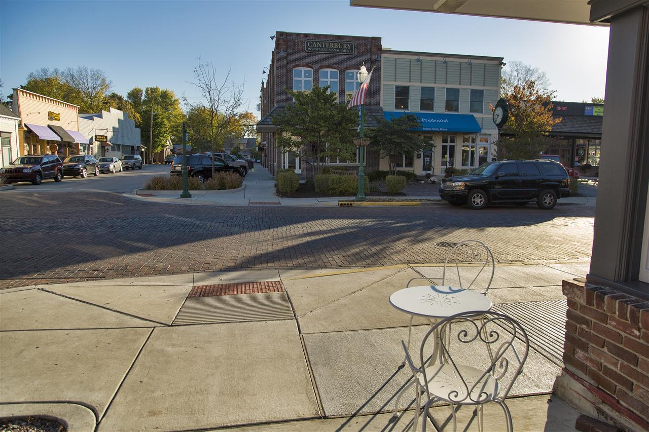 Downtown Zionsville, Indiana