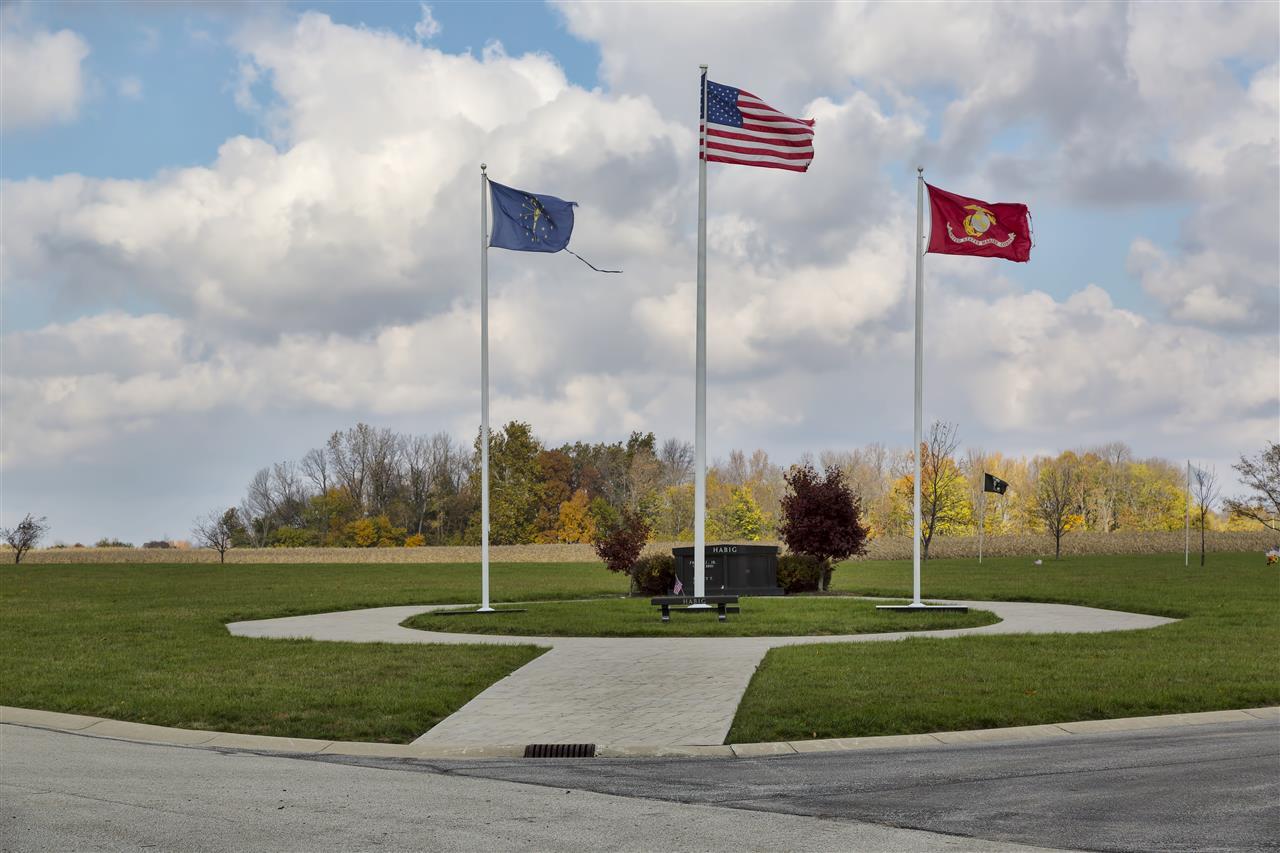 Hamilton Memorial, Westfield, Indiana