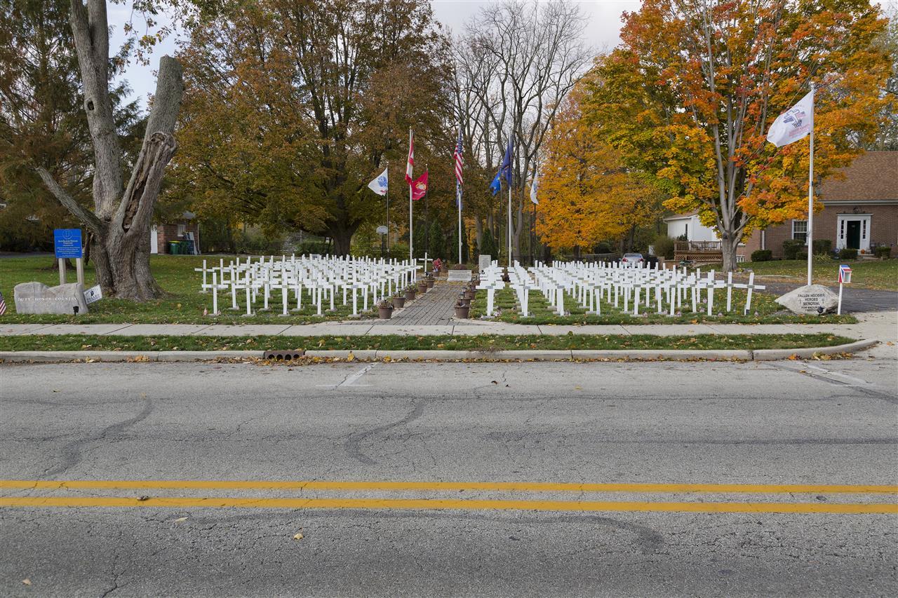 Fallen Hoosiers Heroes Memorial, Westfield Indiana