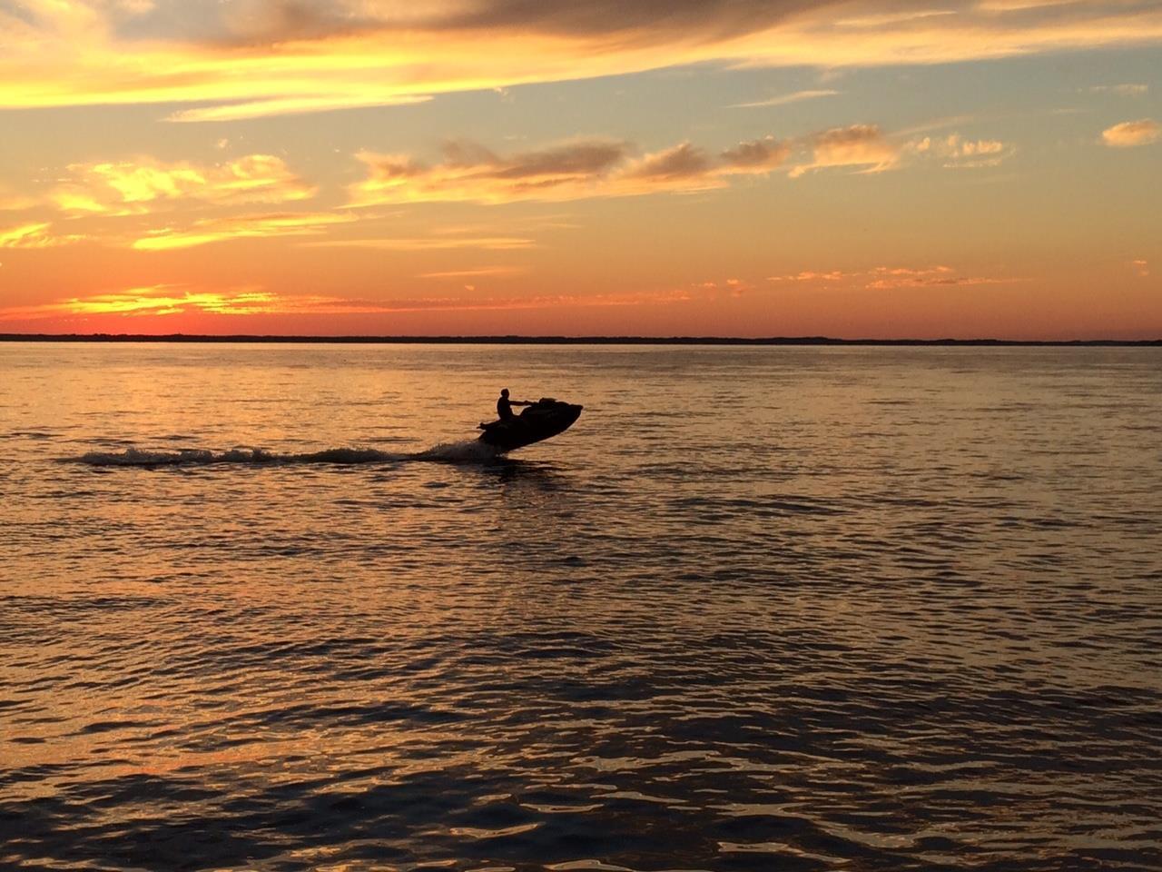 Jet Ski on Chesapeake Bay, Annapolis, MD