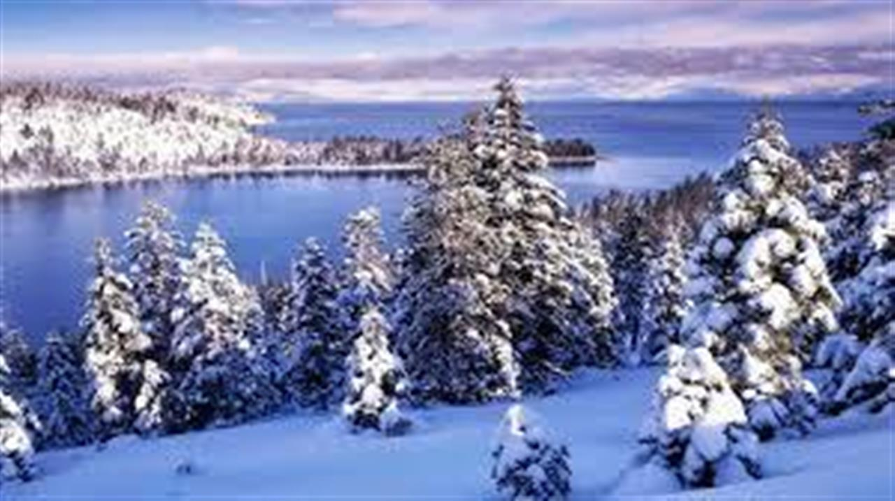 #Lake Tahoe, CA #Emerald Bay Winter