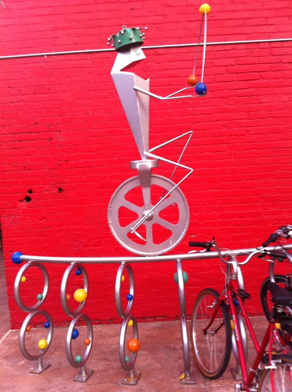 #Reno, NV #Artsy Bike Rack