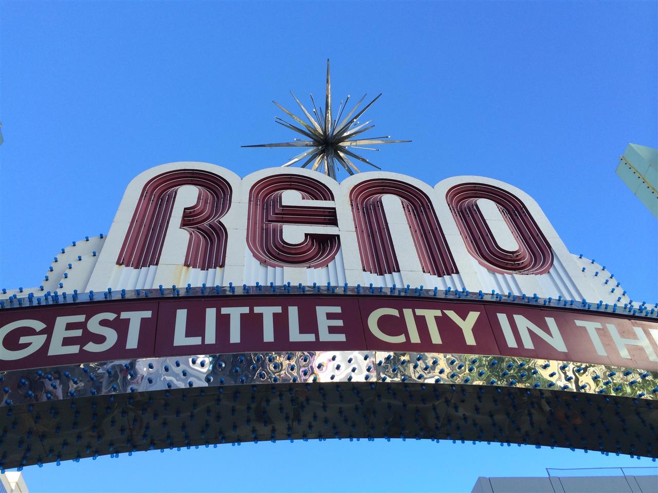 #Reno, NV #The Reno Arch #Biggest Little City