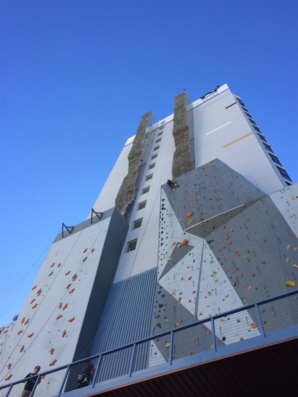 #Reno, NV #Whitney Peak Hotel Rock Climbing Wall