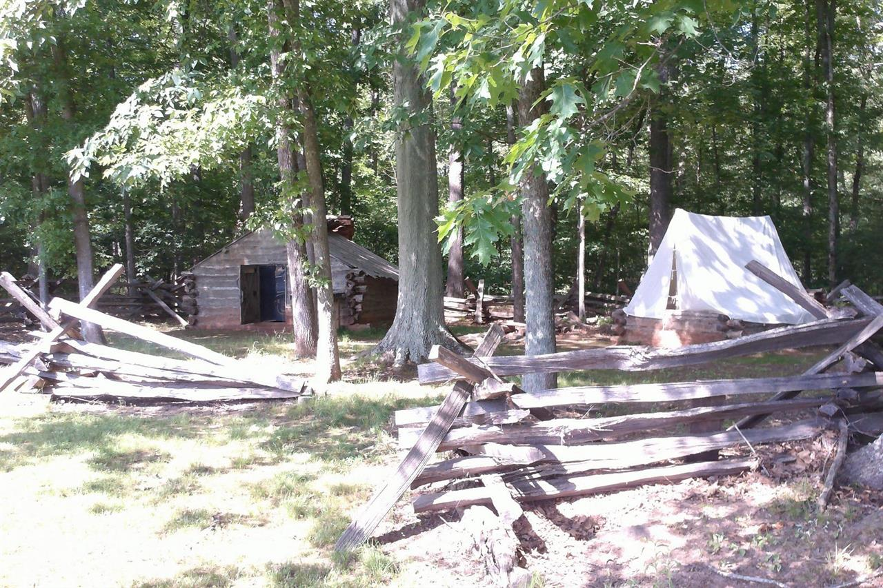 Bull Run Regional Park, Centreville, VA National State Park Civil War Camp Housing