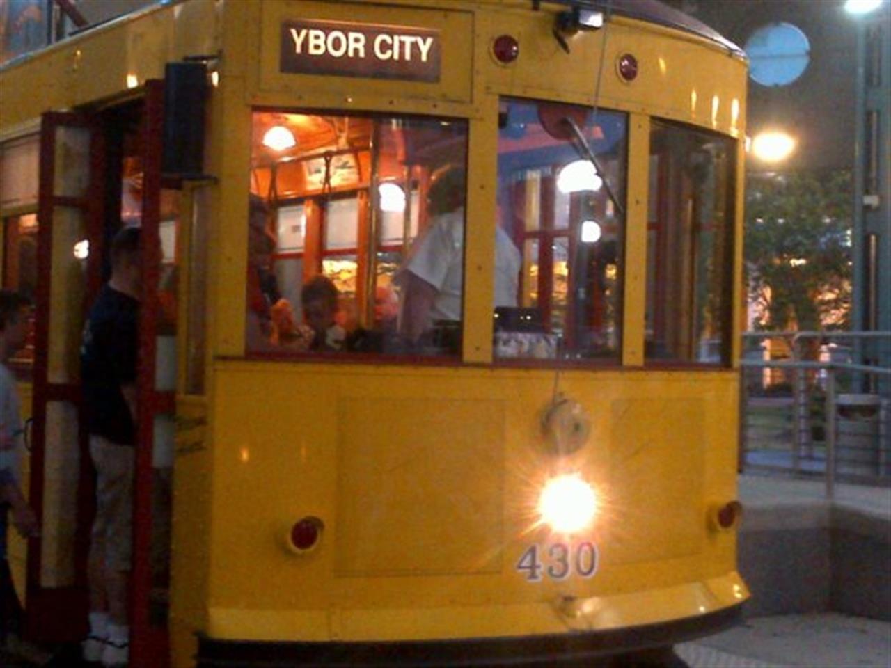 Trolley to Ybor City, Tampa, FL