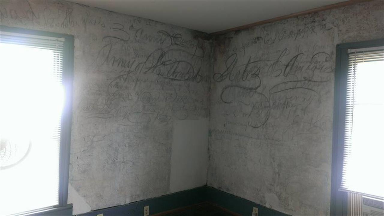 Inside the Graffiti House Brandy Station, Va.  Culpeper County