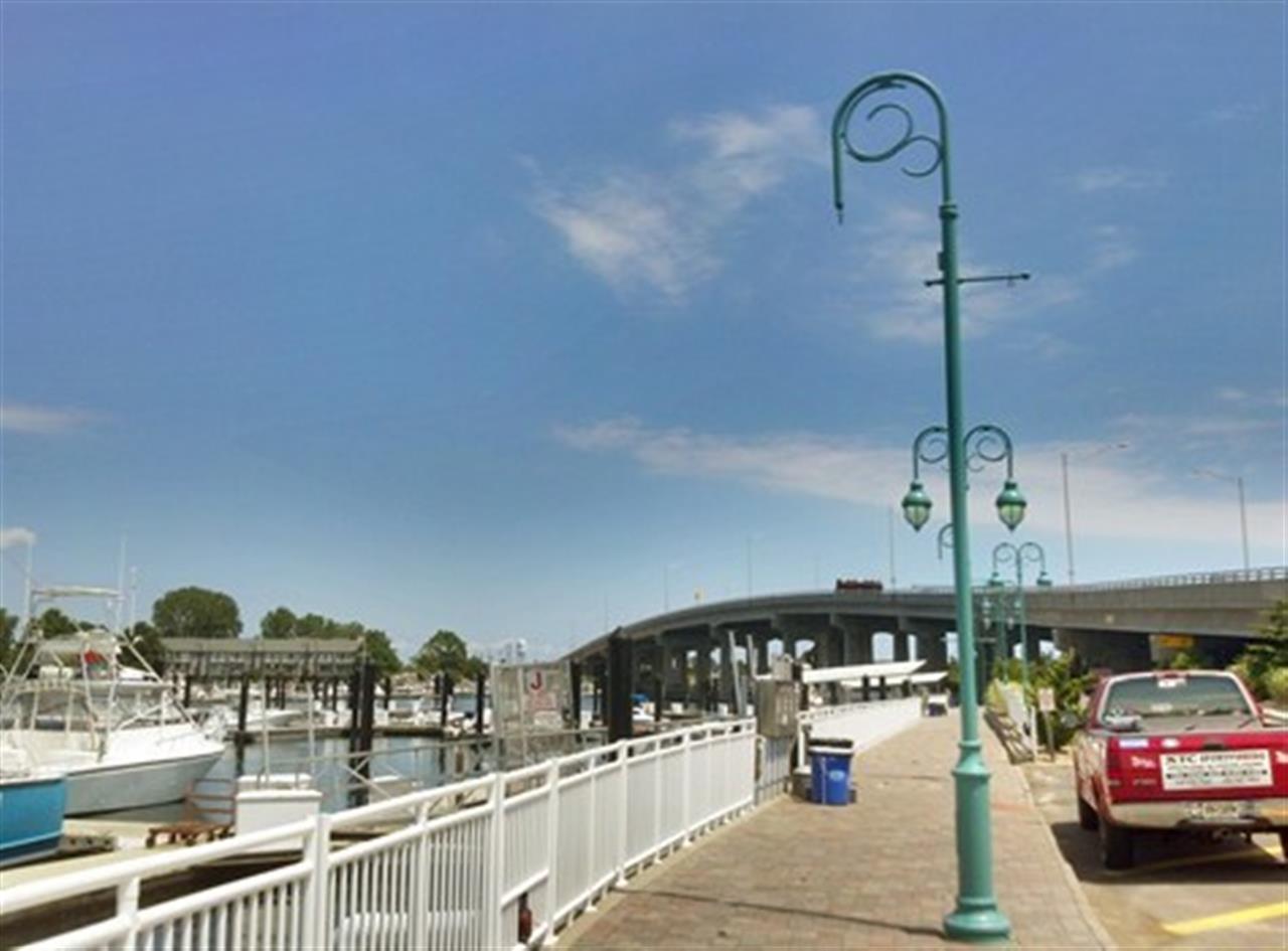 Shark River Bridge, Belmar Marina, Belmar, New Jersey,