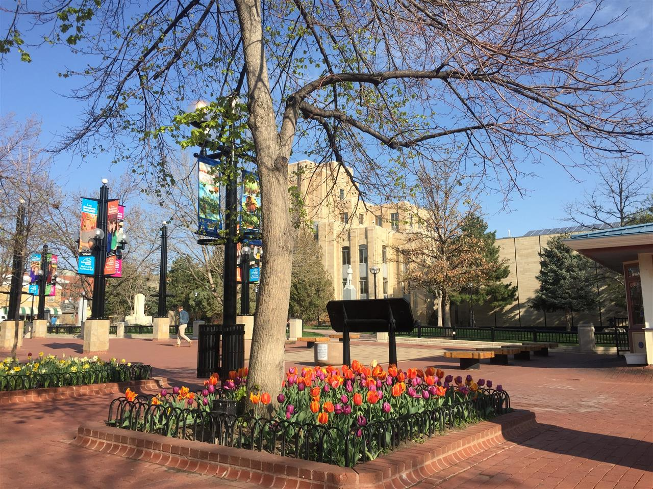 Boulder Courthouse, Pearl Street Mall, Boulder, CO