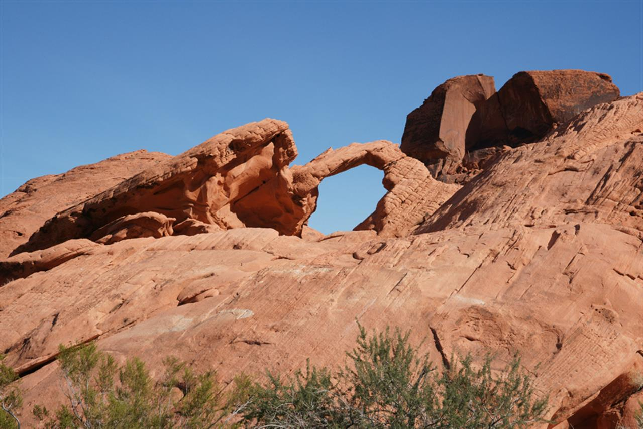 Rock Arch at Valley of Fire State Park