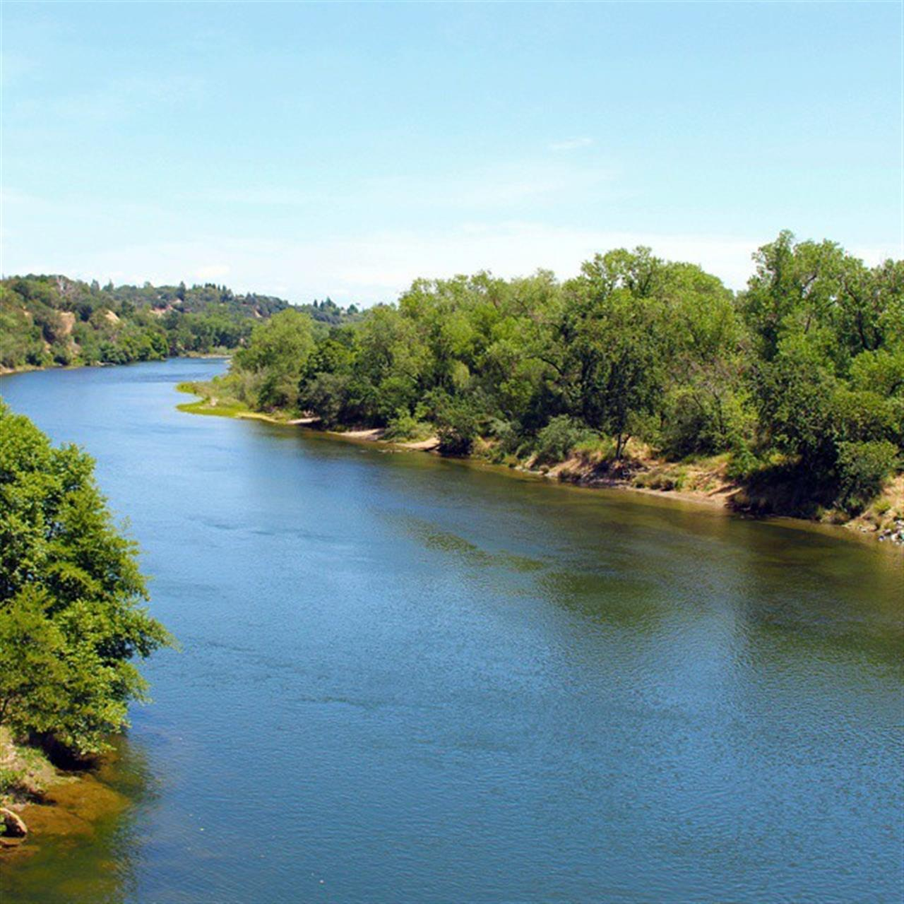 Amazing view of the American River from the Fair Oaks Bridge. #leadingrelocal #lyonrealestate #americanriver #fairoaks #fairoaksbridge