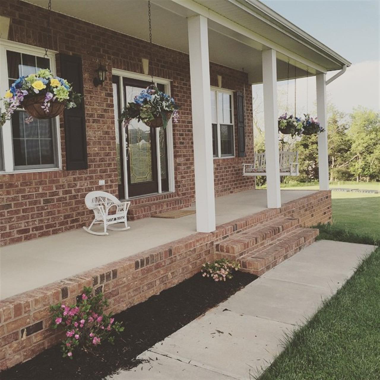 Strasburg, VA - Front porch of my house