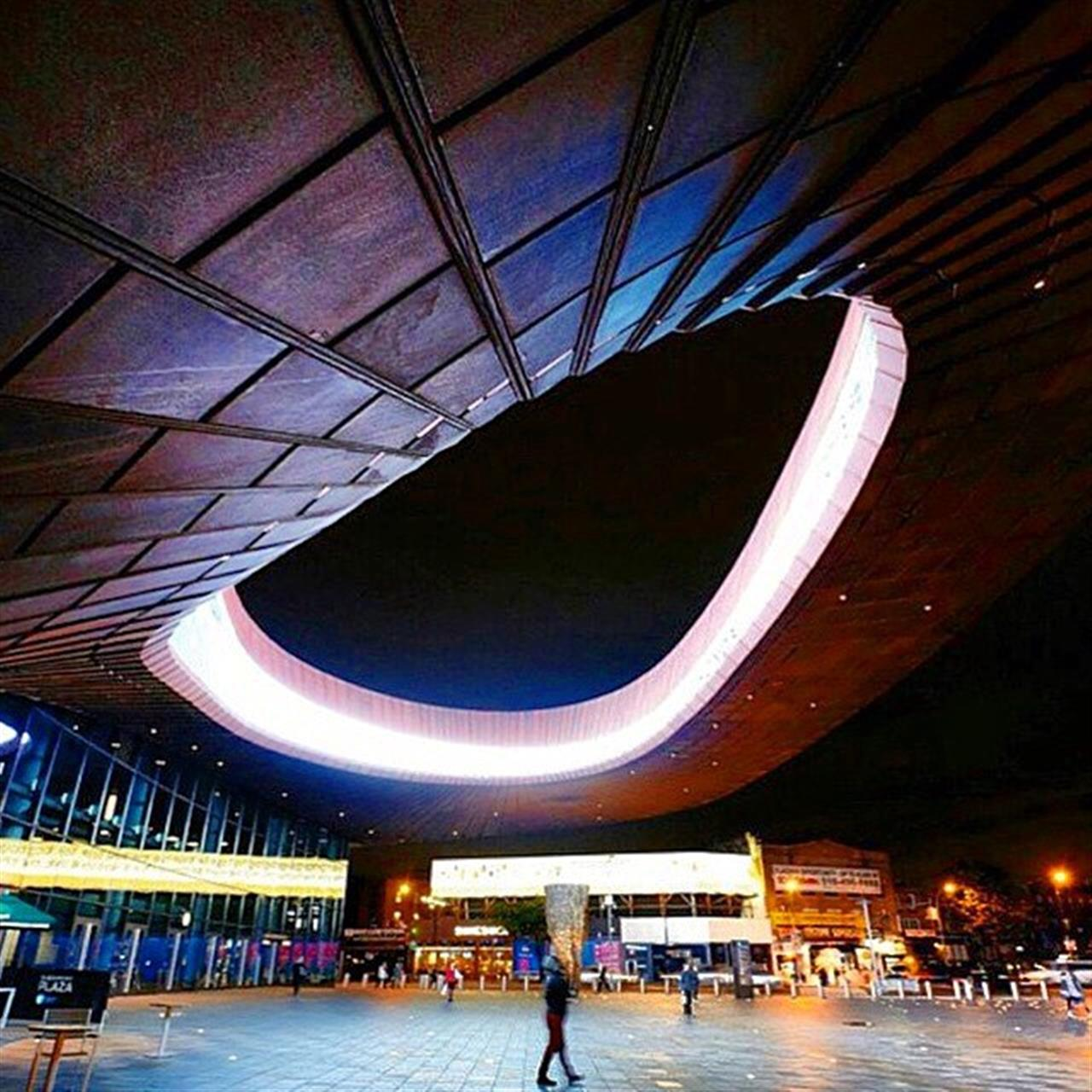 Close Encounters at the #BarclaysCenter. (Photo from @shoparchitects)