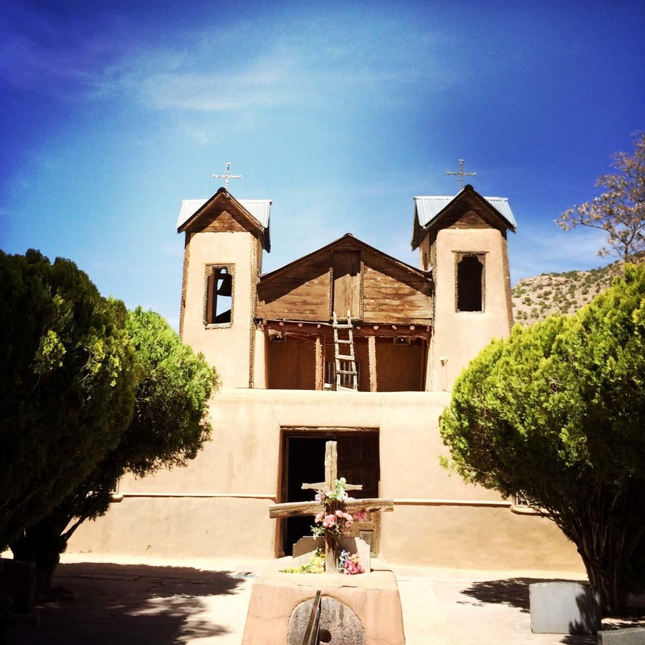 #Taos attraction #Santuario Chimayo #Easter Pilgrimmage #Taos #New Mexico