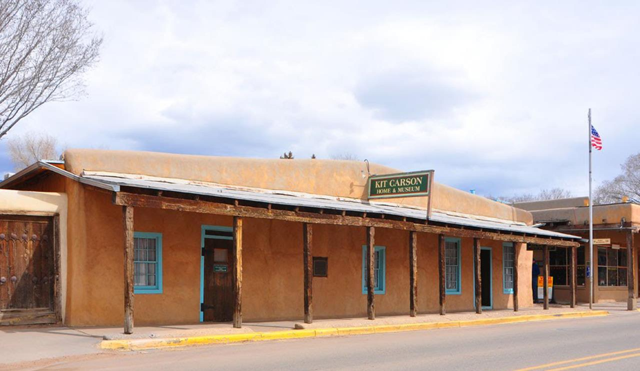 #Taos attractions #Kit Carson Home #Taos #New Mexico