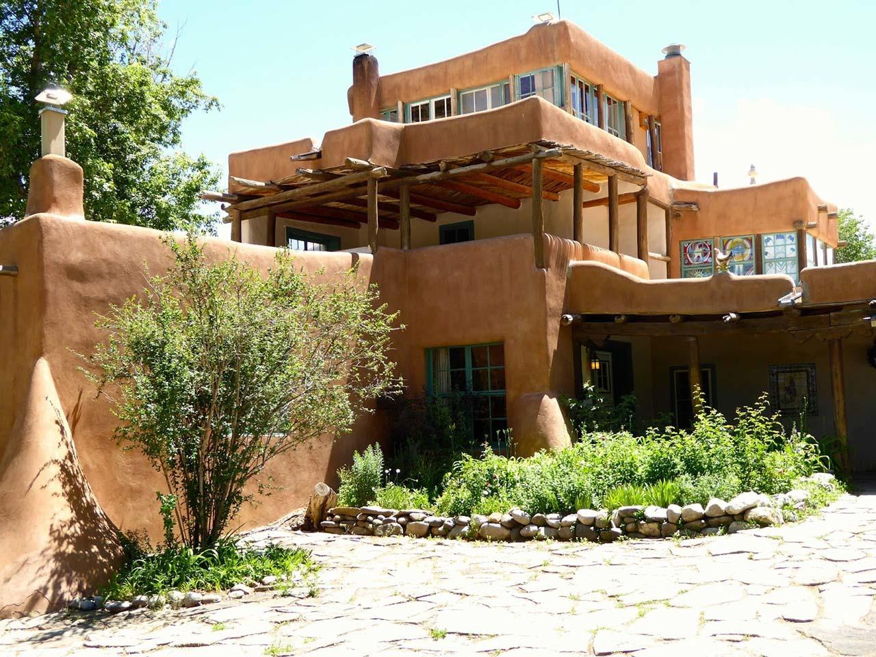 #Taos attractions #Mabel Dodge Luhan House Historic Hotel #Taos #New Mexico