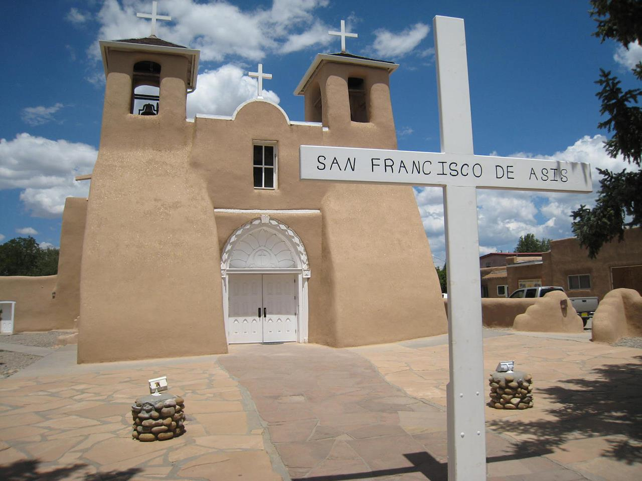 #Taos attractions #St Francis d'Assisi Church #Ranchos de Taos #Taos #New Mexico