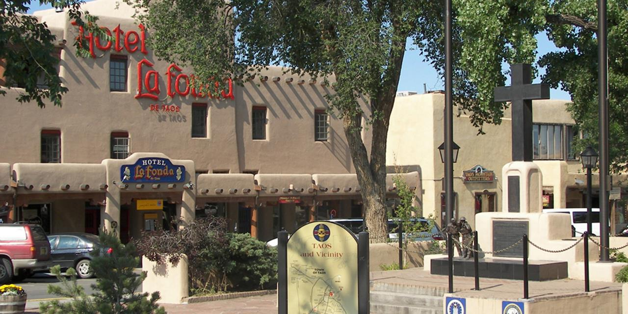 #Taos attractions #Historic Taos Plaza #Taos #New Mexico