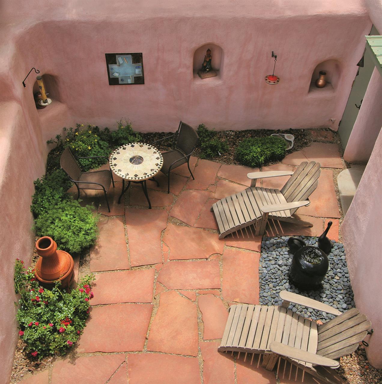 #Taos culture #adobe courtyard #Taos #New Mexico