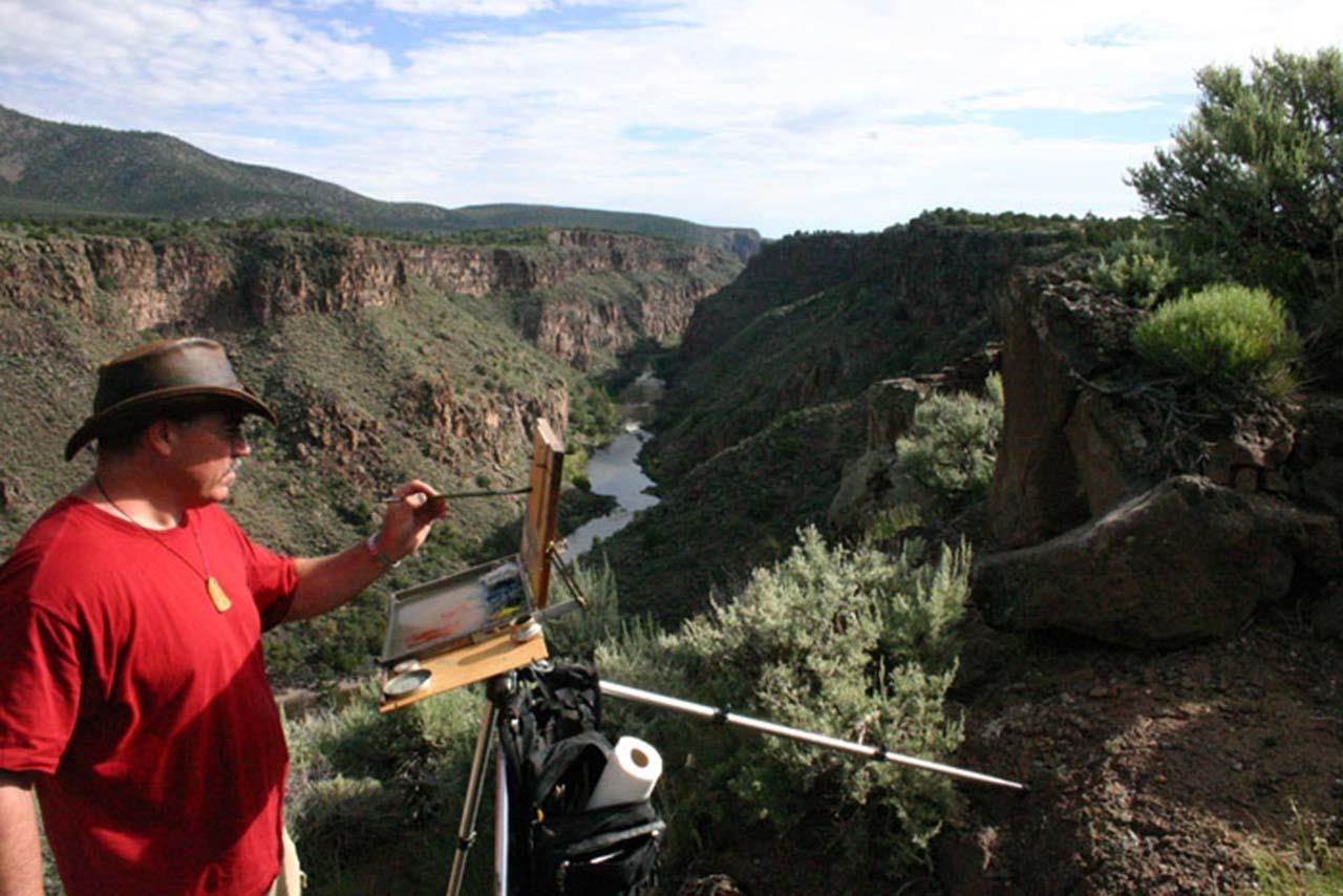 #Taos culture #artist colony #en plein air painting #Taos #New Mexico