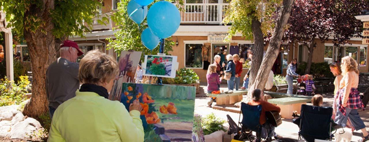 #Taos culture #en plein air painting #TCA Quick Draw #John Dunn Shops #Taos #New Mexico