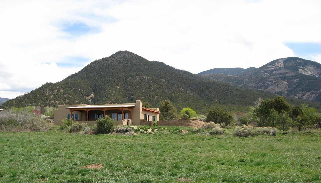 #Taos neighborhoods #El Salto house #Taos #New Mexico