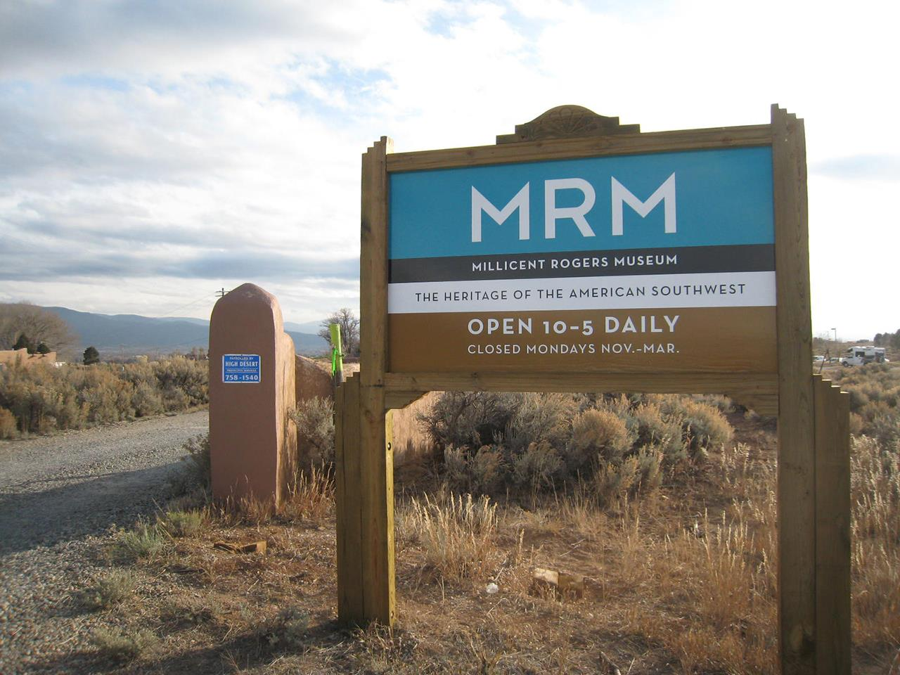 #Taos neighborhoods #El Prado #Millicent Rogers Museum #Taos #New Mexico