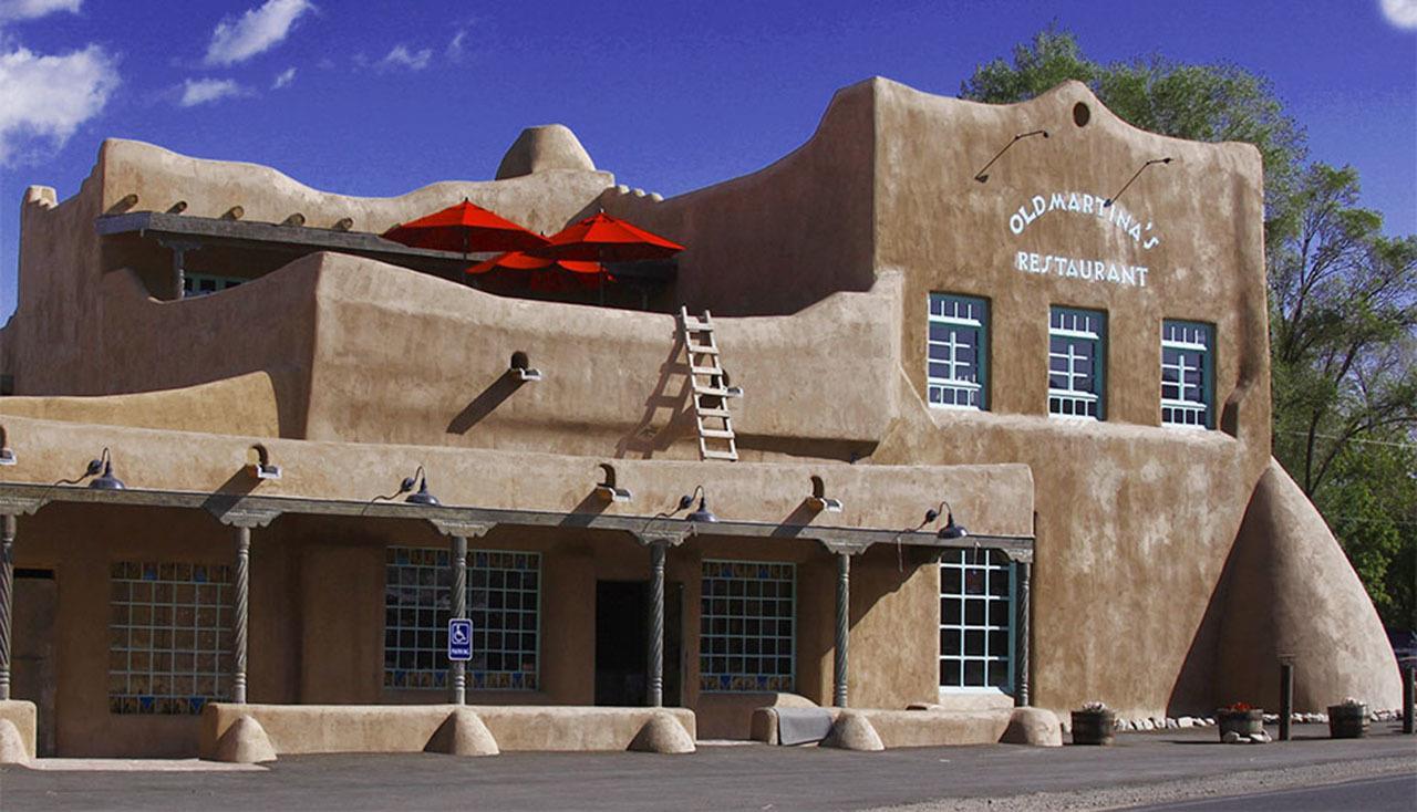 #Taos neighborhoods #Old Martina's Hall #fine dining #Ranchos de Taos #Taos #New Mexico