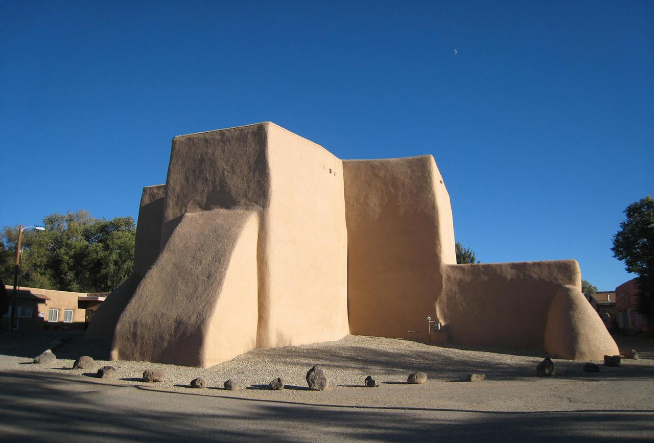 #Taos neighborhoods #St Francis d'Assisi Church #Ranchos de Taos Plaza  #Taos #New Mexico