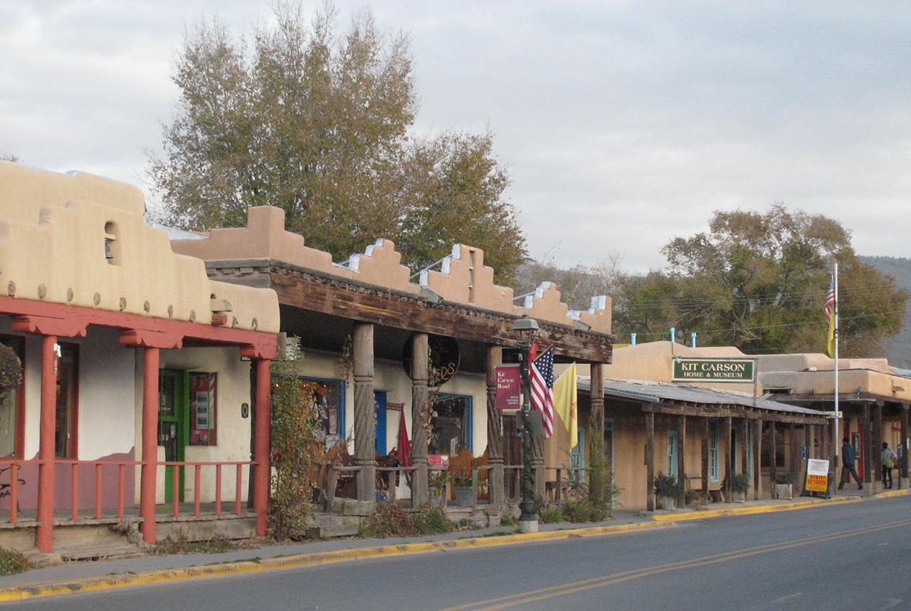#Taos neighborhoods #Kit Carson Road #Town of Taos #Taos #New Mexico