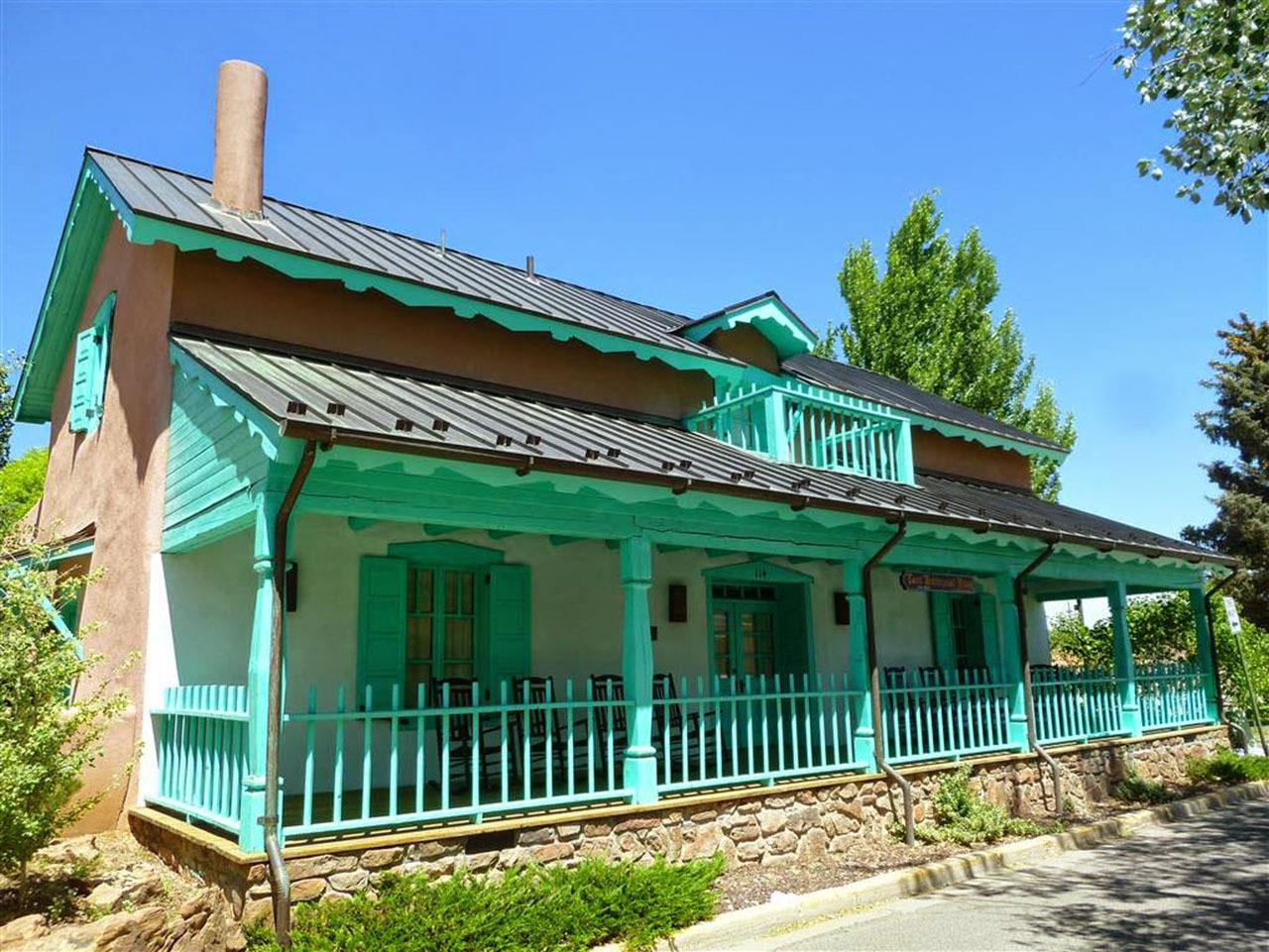#Taos neighborhoods #Town of Taos territorial house #Taos #New Mexico