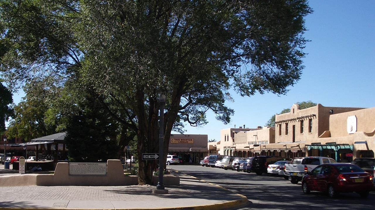 #Taos neighborhoos #historic Taos Plaza #Town of Taos #Taos #New Mexico