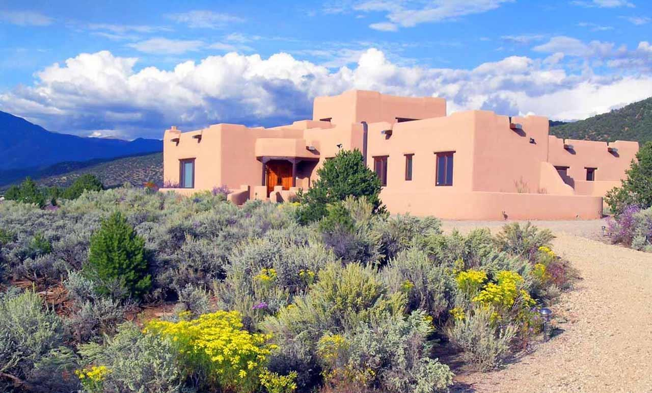 #Taos neighborhoods #Weimer foothills house #Taos #New Mexico