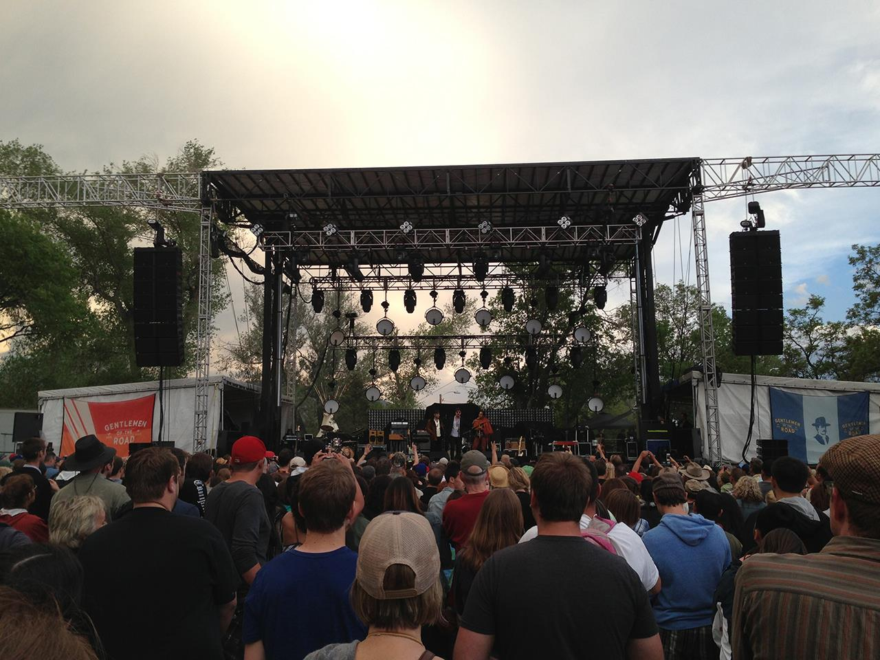 #Taos recreation #outdoor concert #Mumford and Sons #Kit Carson Park #Taos #New Mexico