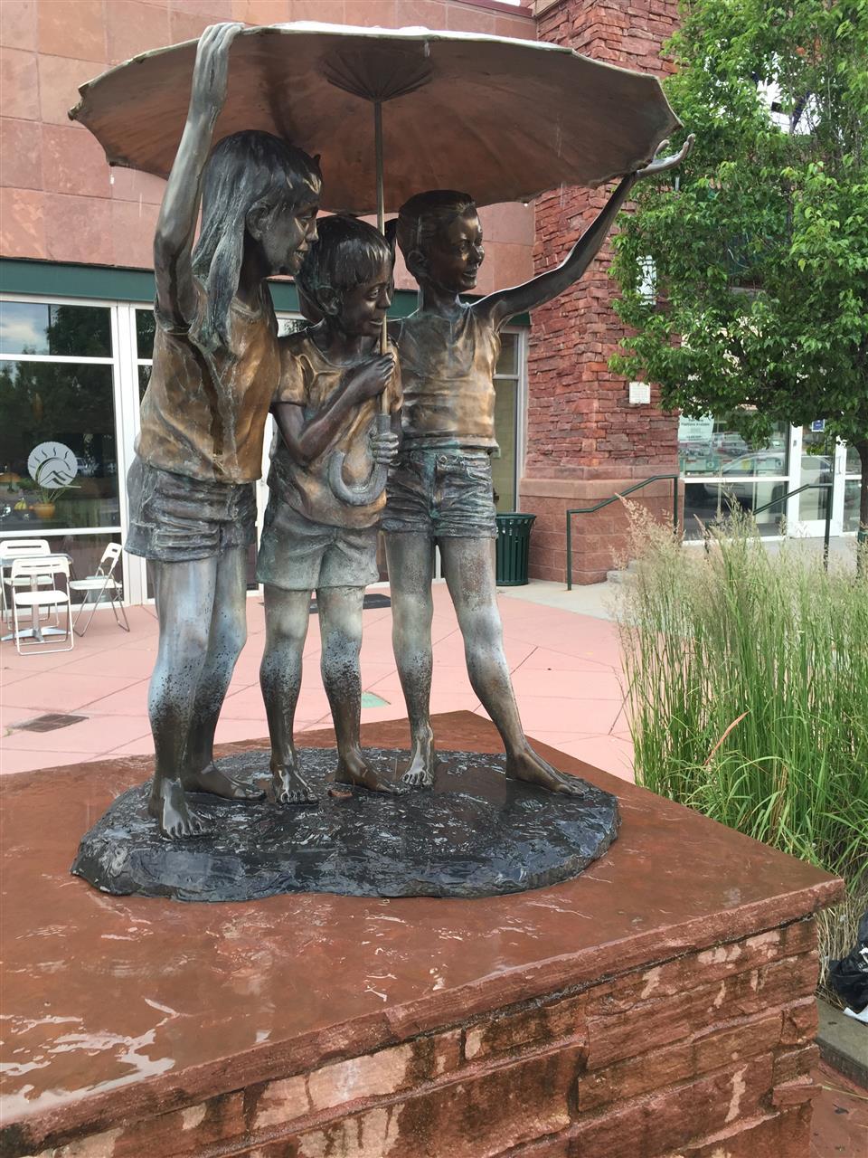 Bronze Statues in Louisville, CO