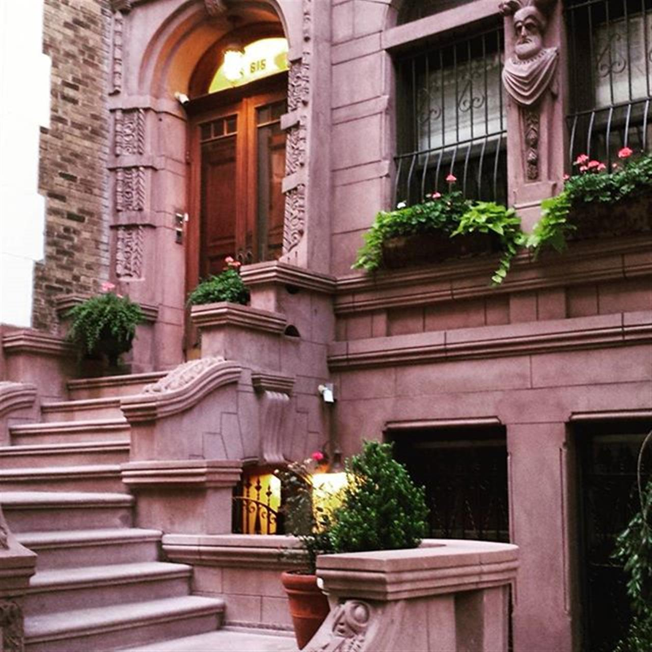 Stairway to heaven.  #exploreyourhood #leadingrelocal #brownstone #architecture #upperwestside #realestate #dreamhouse