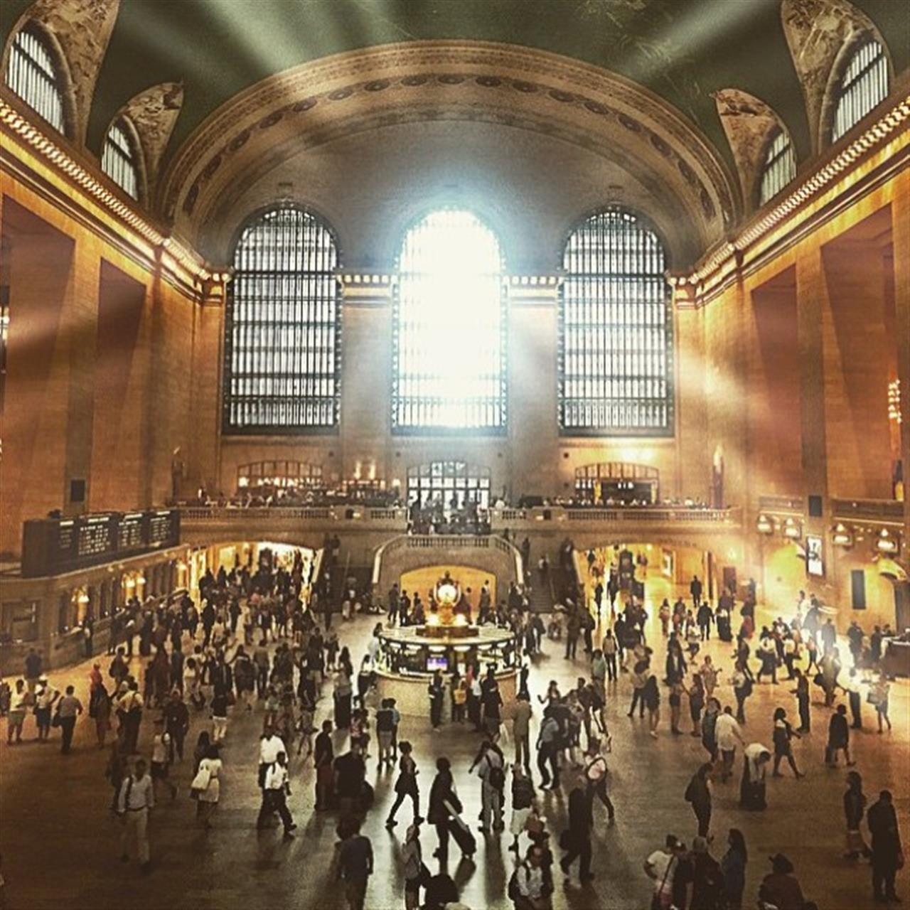 All aboard #GrandCentralStation. Next stop, #4thofJuly weekend! (Photo from Stribling broker @elnjoy26)