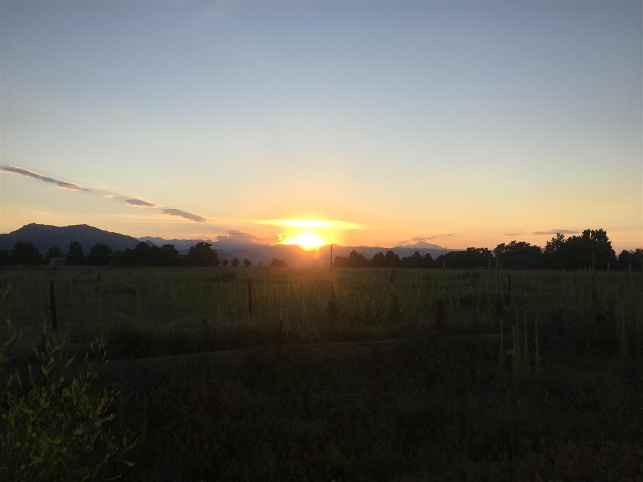 Sunset at Davidson Mesa, Louisville, CO
