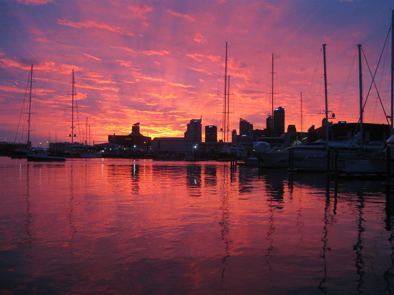 Sunset  Auckland, New Zealand #LeadingRElocal
