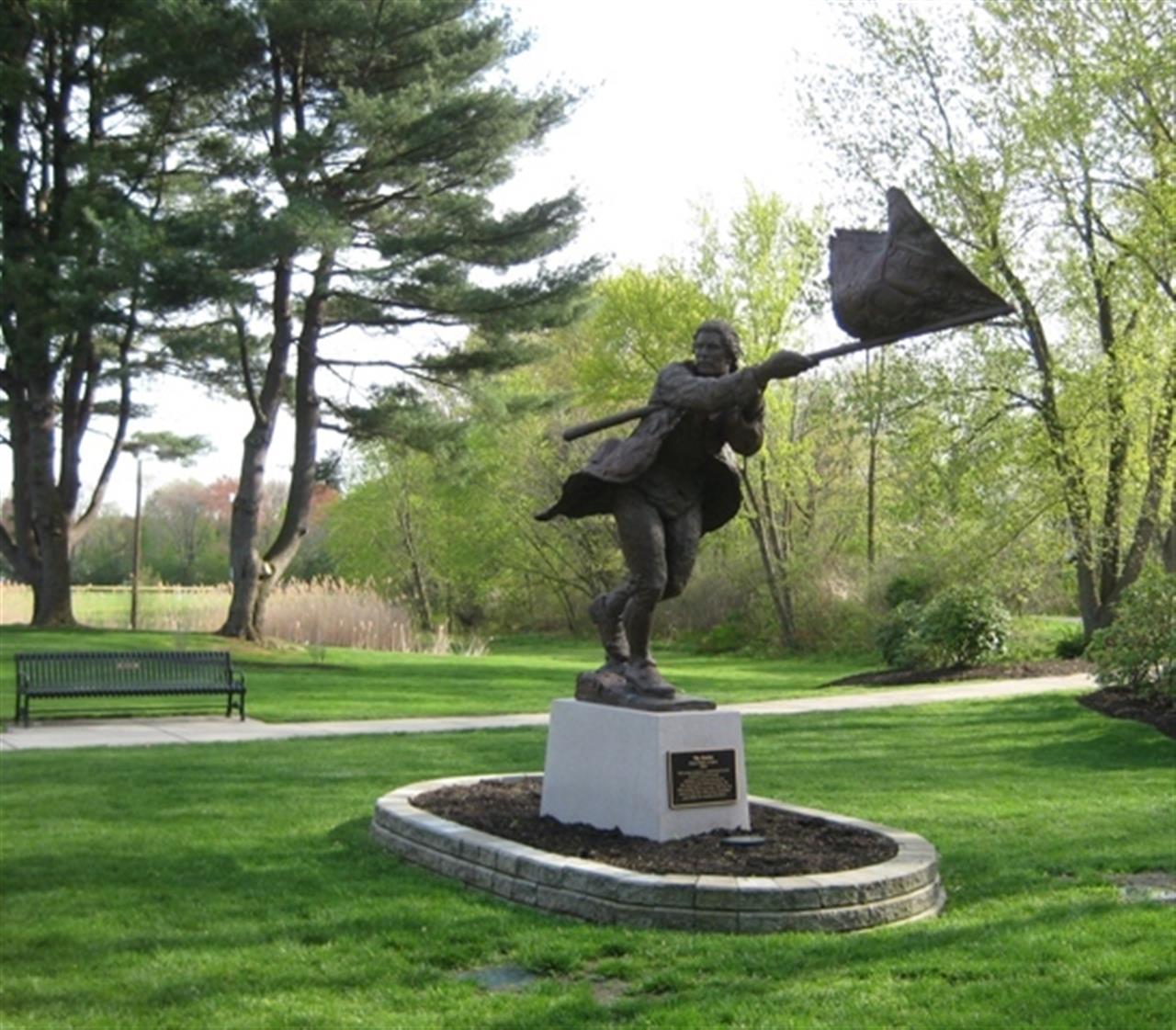 Patriot Statue | Bedford, MA