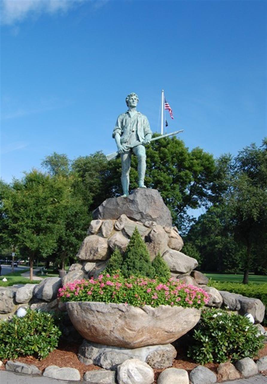 Minuteman Statue | Lexington, MA