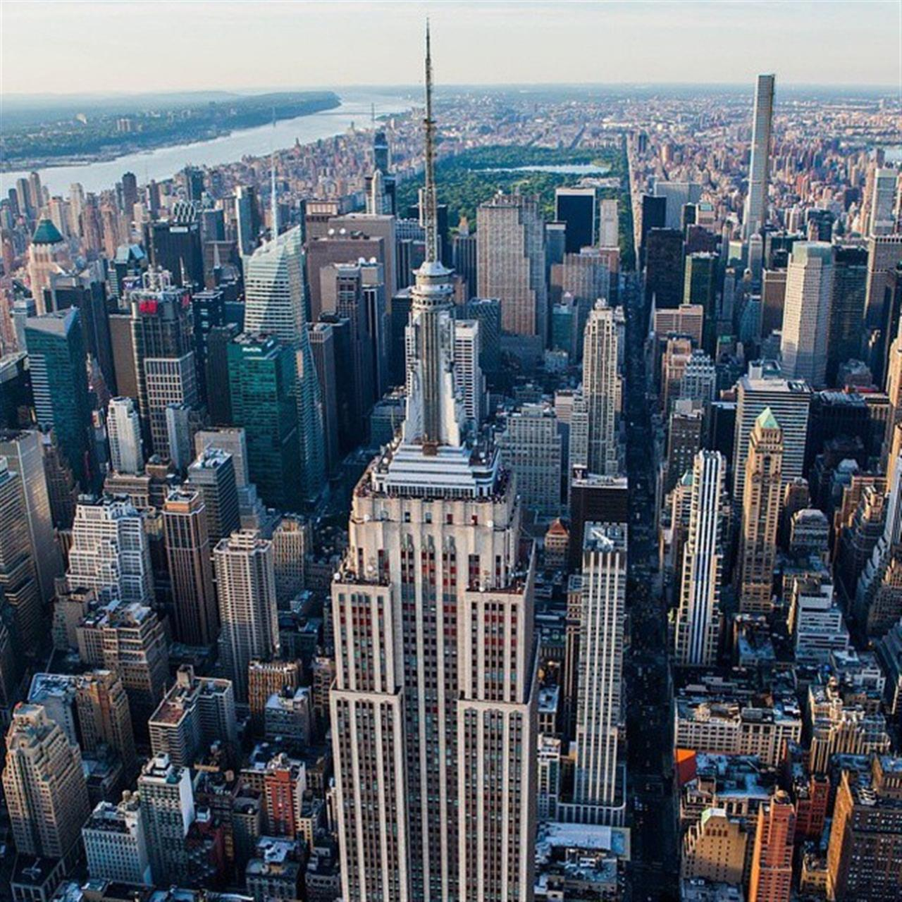 Above it all in #Midtown. (Photo from @anthonyquintano)