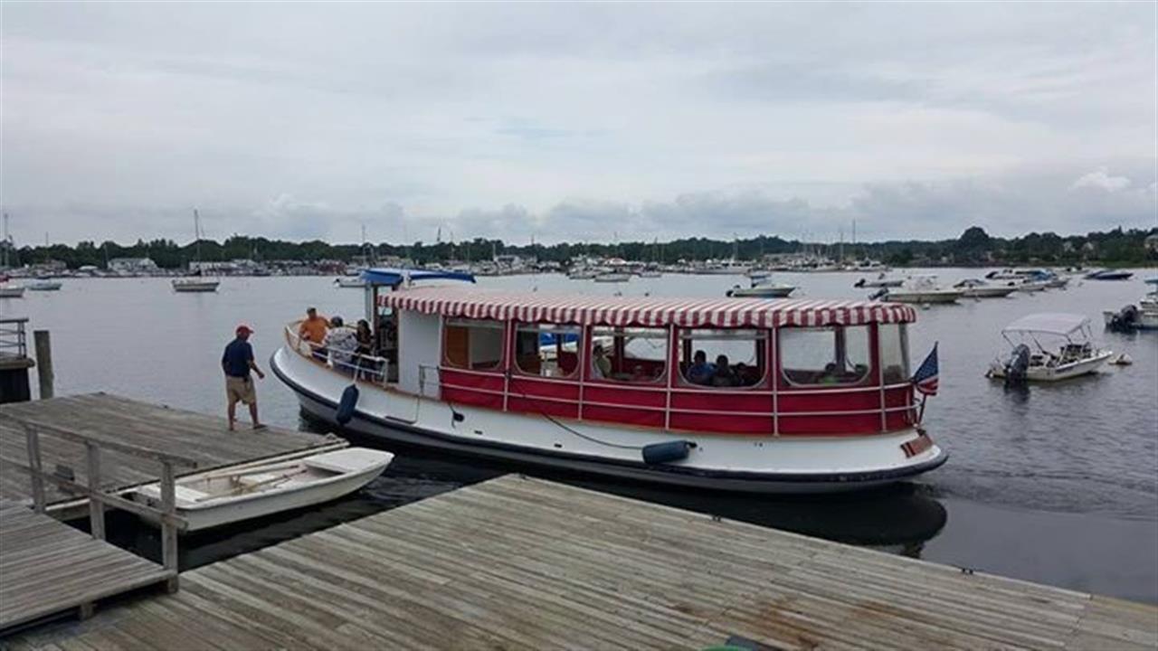 Port Washington Touring Boat.